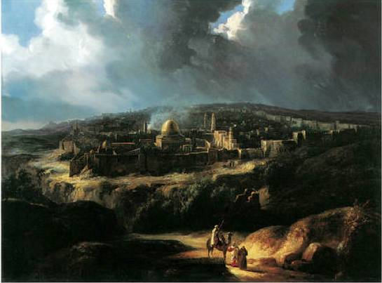 Stillness and Motion: Depicting the Urban Landscape of Palestine in the 19th Century
