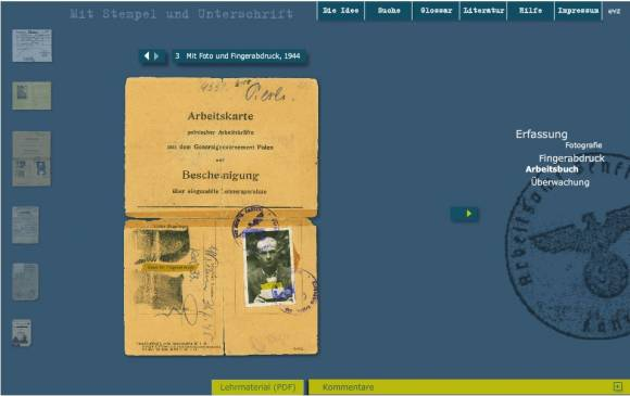 Contextualizing Holocaust Documents of the International Tracing Service (ITS) through an Interactive Online Guide