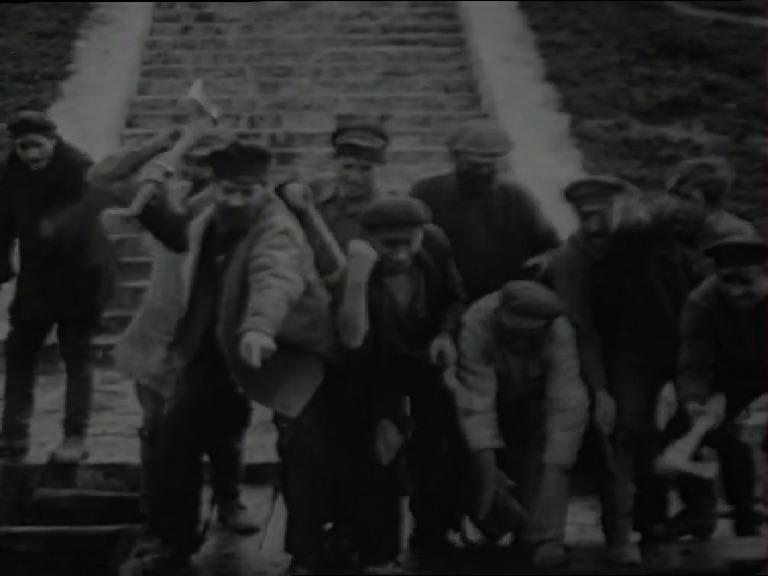 Fig. 11: Protiv voli otsov, Evgeni Ivanov-Barkov, 1926 (Gosfilmofond)