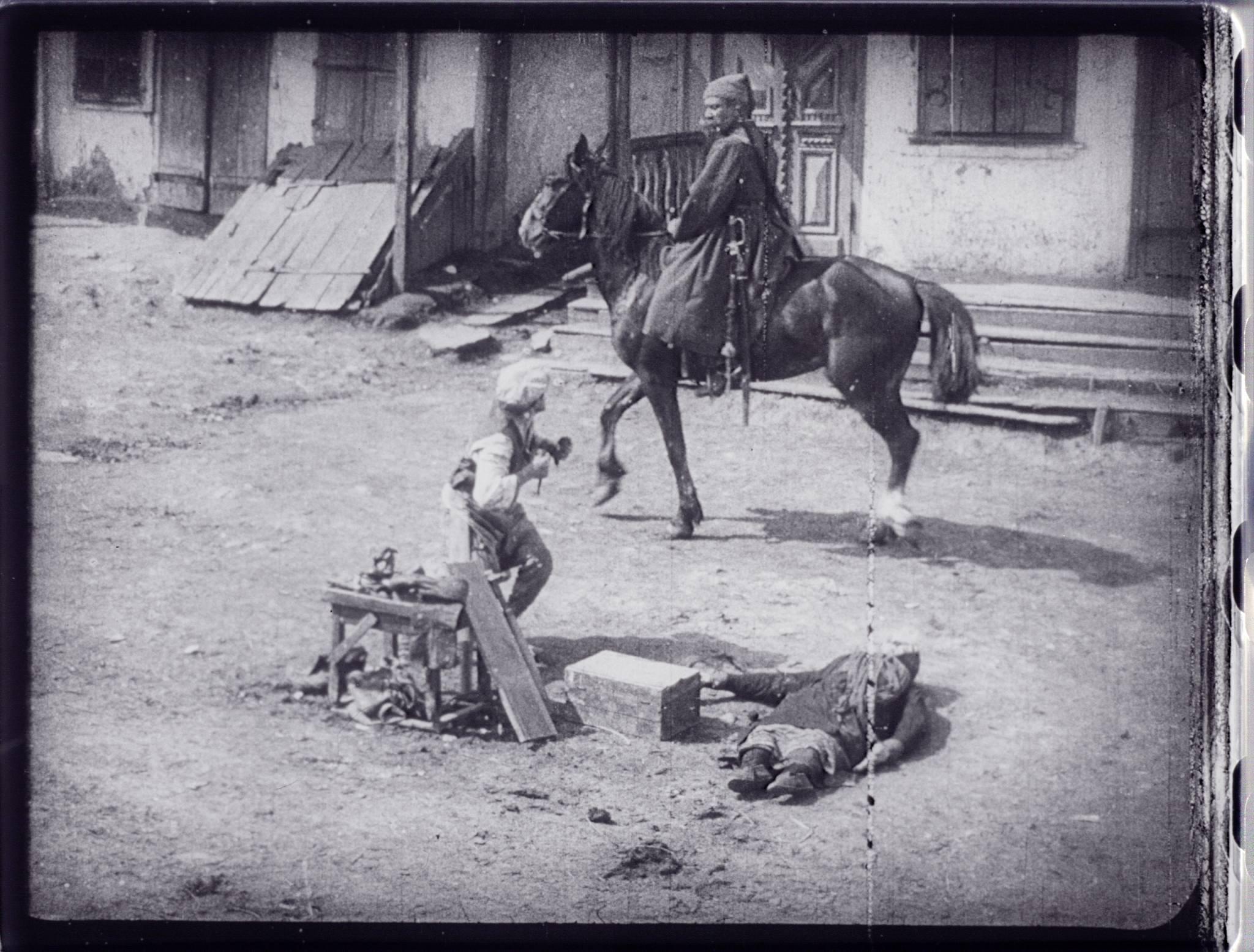 Fig. 14: Piat nevest, Aleksandr Solovev, 1929 (Gosfilmofond)