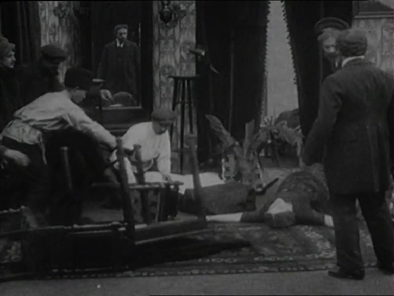 Fig. 5: Vu iz emes?, Simon Mintus, 1913 (Gosfilmofond)